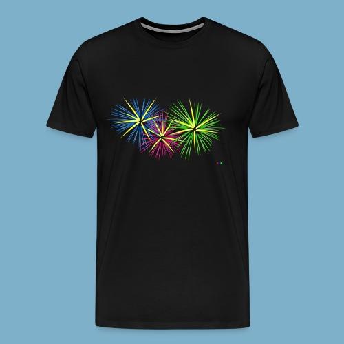 Fireworks Feuerwerk - Männer Premium T-Shirt