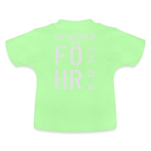 Föhr (weiss) - Baby T-Shirt