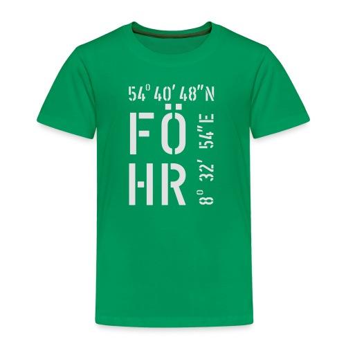 Föhr (weiss) - Kinder Premium T-Shirt