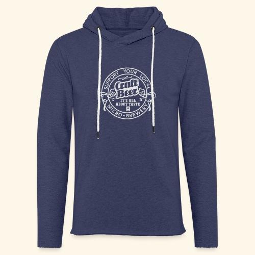Craft Beer, Original - Leichtes Kapuzensweatshirt Unisex