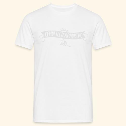 spassprediger.de presents: Cenosillicaphobiac - Männer T-Shirt