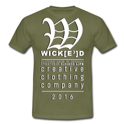 WICKD - Wick[3]D by Draze - Men's T-Shirt