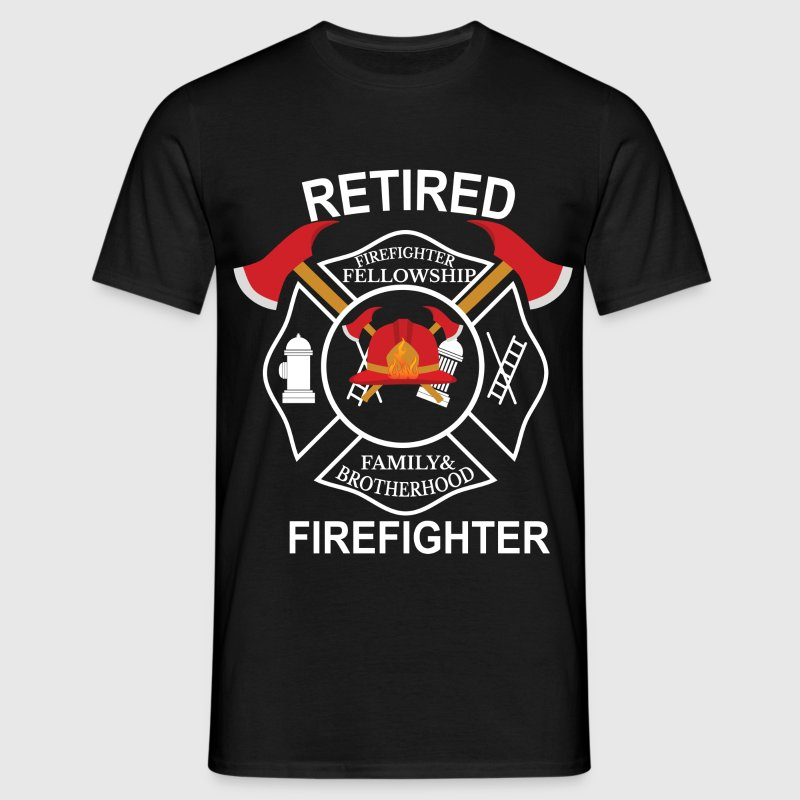 Retired firefighter T-Shirts - Men's T-Shirt