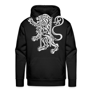 Scottish Tribal Lion Rampant - Men's Premium Hoodie