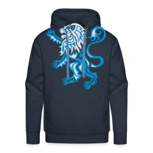 Alba Tribal Lion Rampant - Men's Premium Hoodie