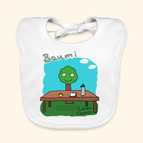 Baumi - Tee für alle! *bunt* - Baby Bio-Lätzchen