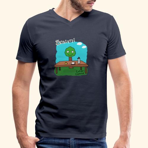 Baumi - Tee für alle! *bunt* - Männer Bio-T-Shirt mit V-Ausschnitt von Stanley & Stella