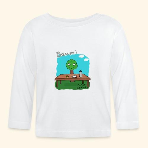 Baumi - Tee für alle! *bunt* - Baby Langarmshirt