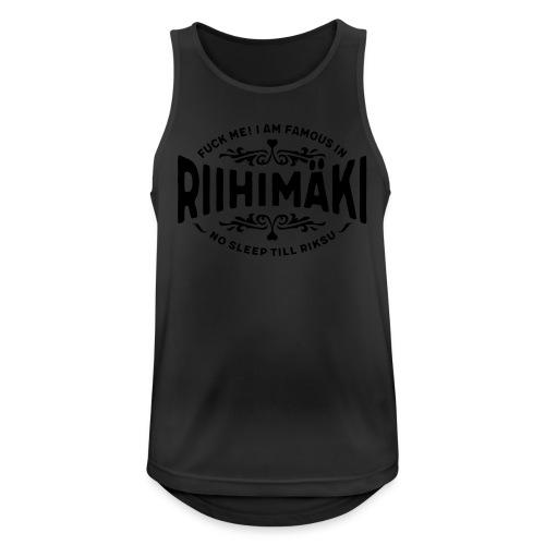 Riihimäki - Fuck Me! - Miesten tekninen tankkitoppi