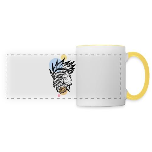 Art Ram - Mug panoramique contrasté et blanc