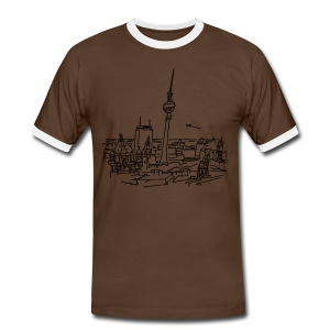 Panorama of Berlin - Men's Ringer Shirt