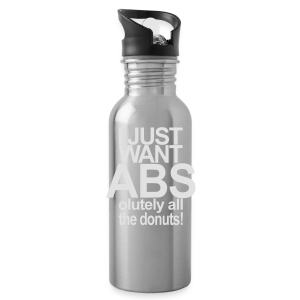 I just want Donuts - Trinkflasche