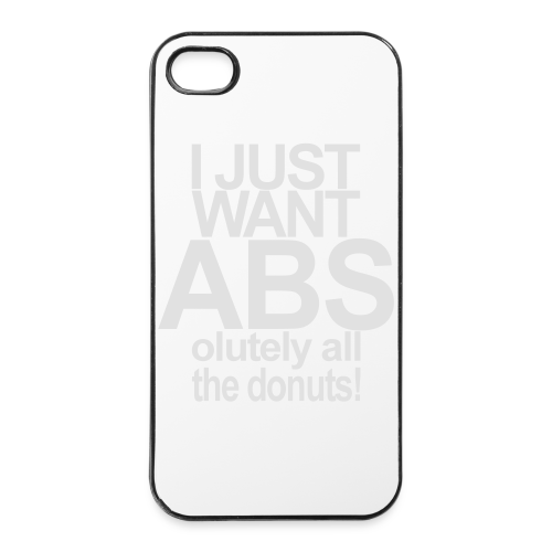 I just want Donuts - iPhone 4/4s Hard Case