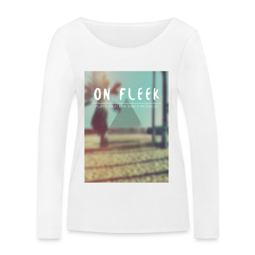 ON FLEEK HIPSTER version - Frauen Bio-Langarmshirt von Stanley & Stella