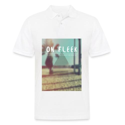 ON FLEEK HIPSTER version - Männer Poloshirt