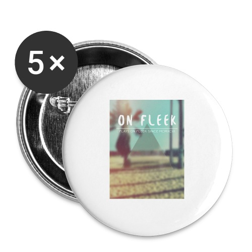 ON FLEEK HIPSTER version - Buttons mittel 32 mm