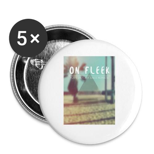 ON FLEEK HIPSTER version - Buttons klein 25 mm