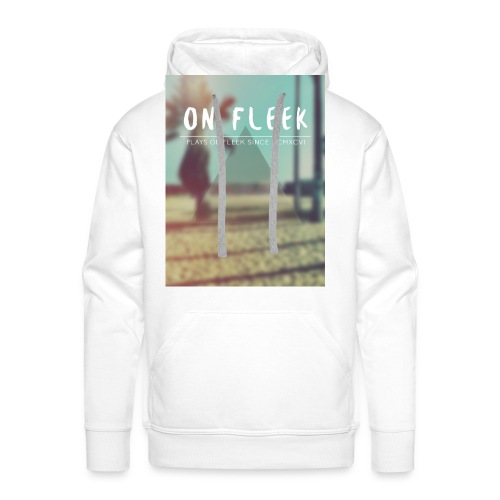 ON FLEEK HIPSTER version - Männer Premium Hoodie