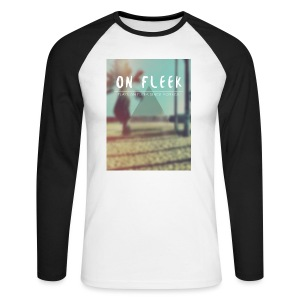 ON FLEEK HIPSTER version - Männer Baseballshirt langarm