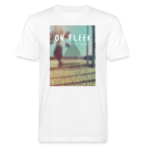 ON FLEEK HIPSTER version - Männer Bio-T-Shirt