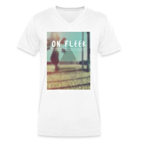 ON FLEEK HIPSTER version - Männer Bio-T-Shirt mit V-Ausschnitt von Stanley & Stella