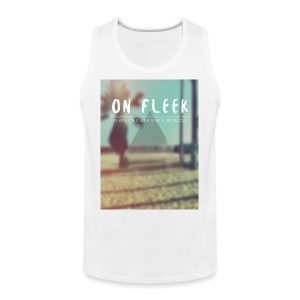 ON FLEEK HIPSTER version - Männer Premium Tank Top