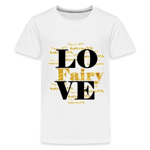 Golden Edition KatyrinaMK Shirt für Teens - Teenager Premium T-Shirt