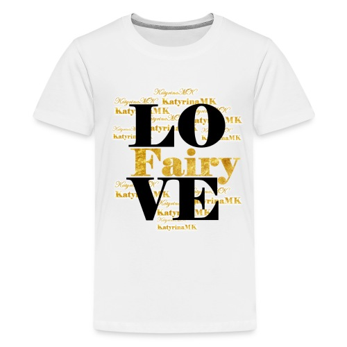 Golden Edition KatyrinaMK Shirt für Teens - Teenager Premium T-Shirt