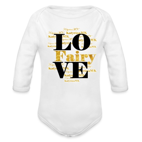 Golden Edition KatyrinaMK Shirt für Teens - Baby Bio-Langarm-Body