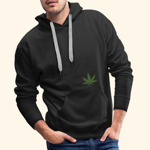 Weed - Sweat-shirt à capuche Premium pour hommes