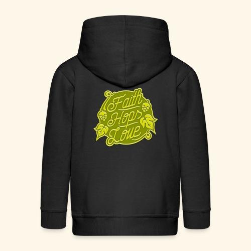 Faith, Hops, Love - Kinder Premium Kapuzenjacke