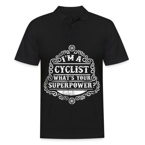 Superpower - weiss - Männer Poloshirt