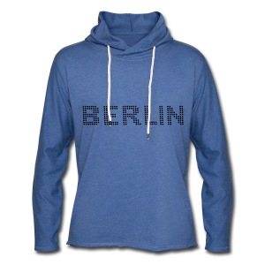 BERLIN Dot font T-Shirts - Light Unisex Sweatshirt Hoodie