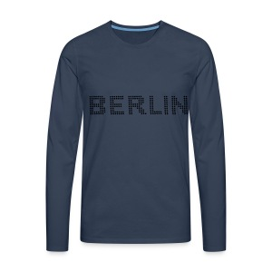 BERLIN Dot font T-Shirts - Men's Premium Longsleeve Shirt
