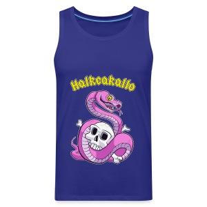 Halkeakallo - Miesten premium hihaton paita