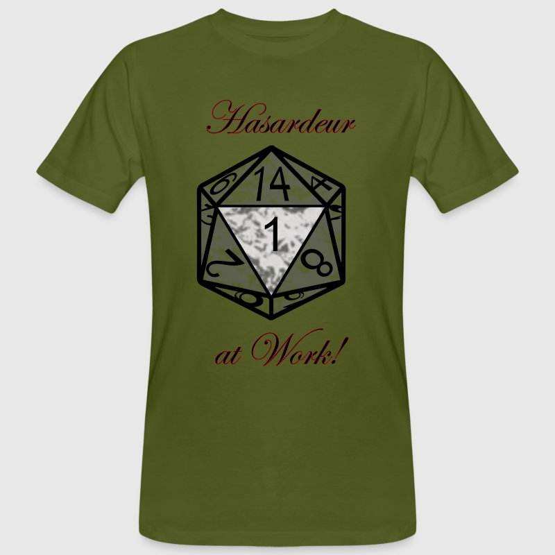Hasardeur at work T-Shirts - Männer Bio-T-Shirt
