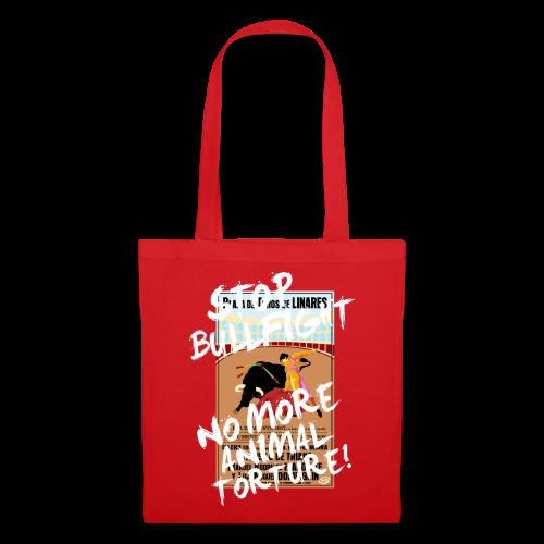Stop Bullfight! - Stoffbeutel