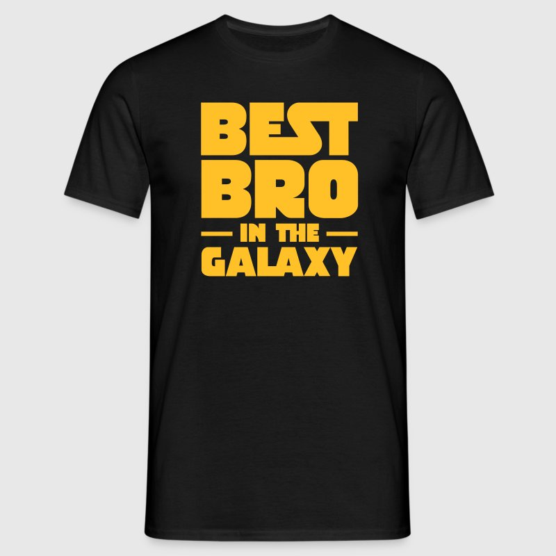 Best Bro In The Galaxy T-Shirts - Men's T-Shirt