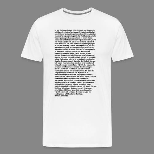 STEINWEG T-SHIRT Fit-Shirt - Männer Premium T-Shirt