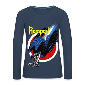 Rampart Osprey Turbo Hawk - Naisten premium pitkähihainen t-paita