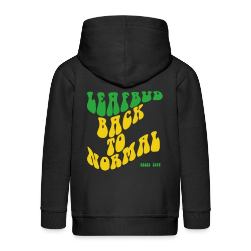 Leafbud Back to Normal - Lasten premium hupparitakki