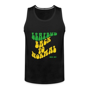 Leafbud Back to Normal - Miesten premium hihaton paita