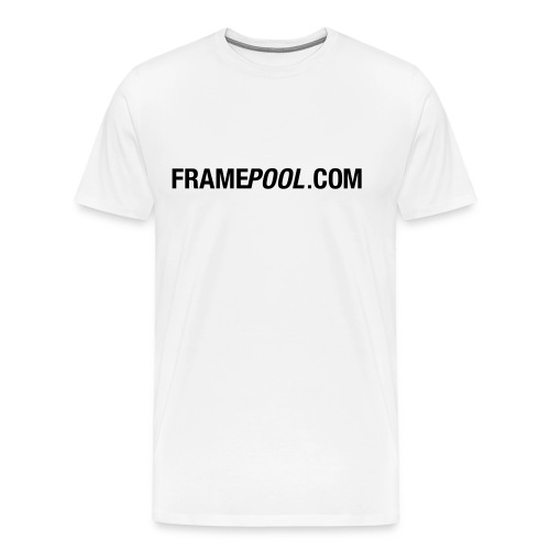 Framepool.com, black - Men's Premium T-Shirt