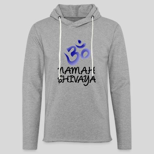 Namah Shivaya - Leichtes Kapuzensweatshirt Unisex