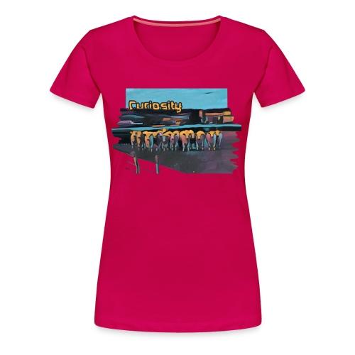 Curiosity - T-shirt Premium Femme