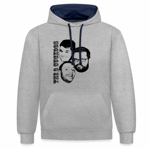 The Talent - Contrast Colour Hoodie