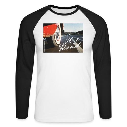 Hit the road - Men's Long Sleeve Baseball T-Shirt