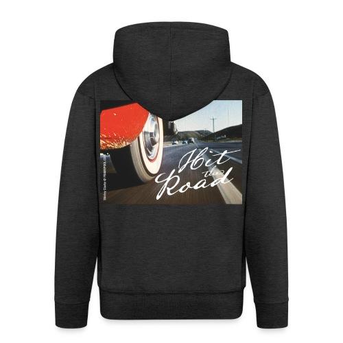 Hit the road - Men's Premium Hooded Jacket