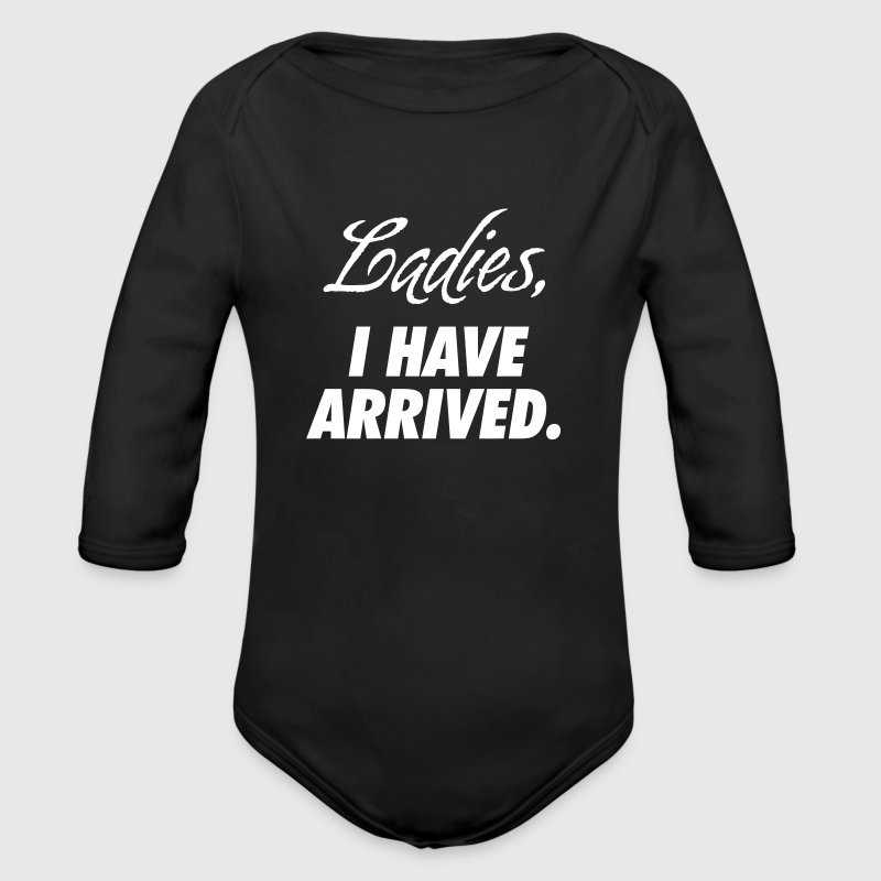 Ladies, I have arrived Babybody - Økologisk langermet baby-body