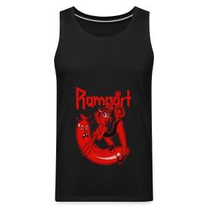 Rampart - Demon Lover Cartoon (Womens) - Miesten premium hihaton paita